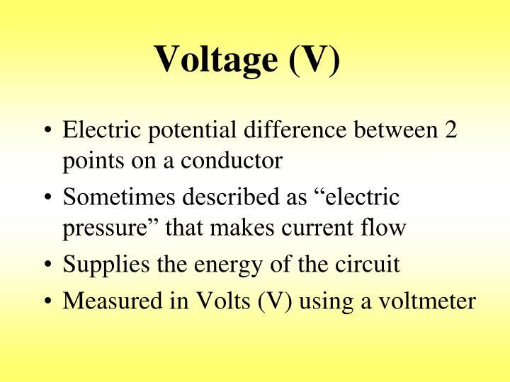 Voltage (V)