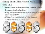 history of nfl retirement plans4