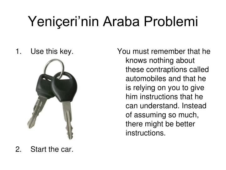 Use this key.