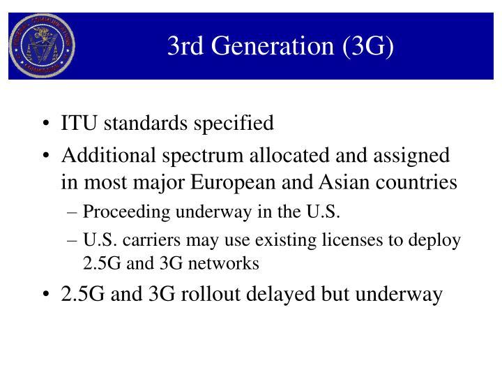 3rd Generation (3G)