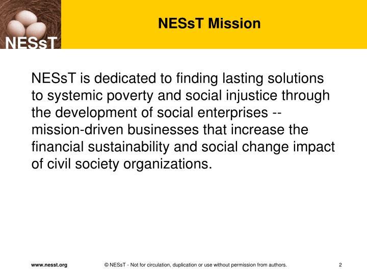 NESsT Mission