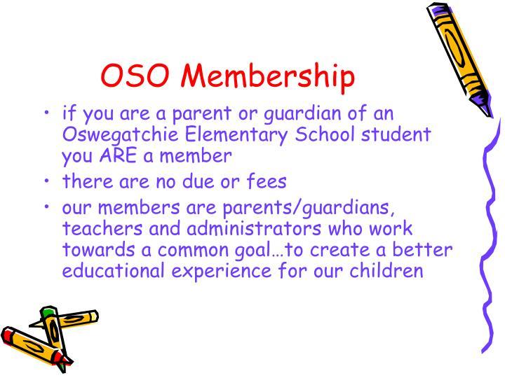 OSO Membership