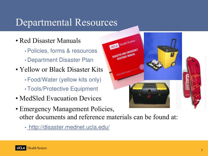 Departmental Resources