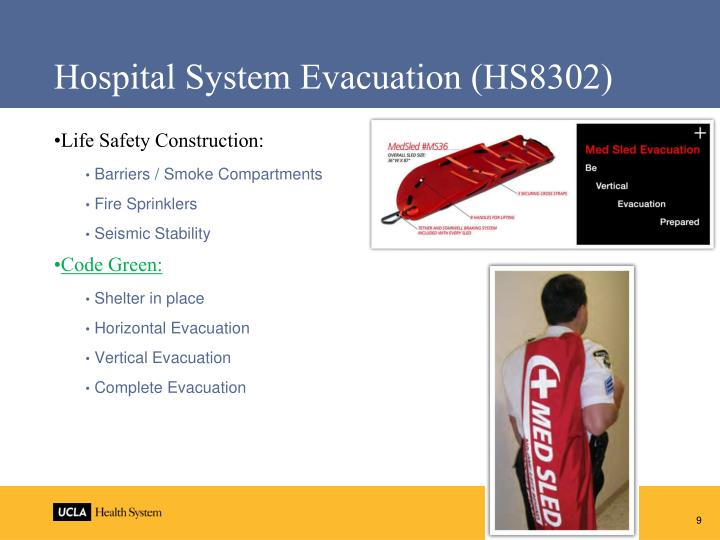 Hospital System Evacuation (HS8302)