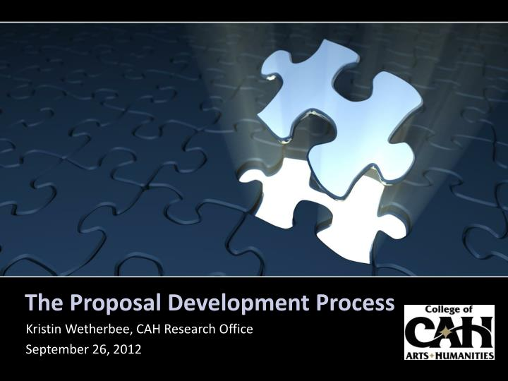 The proposal development process