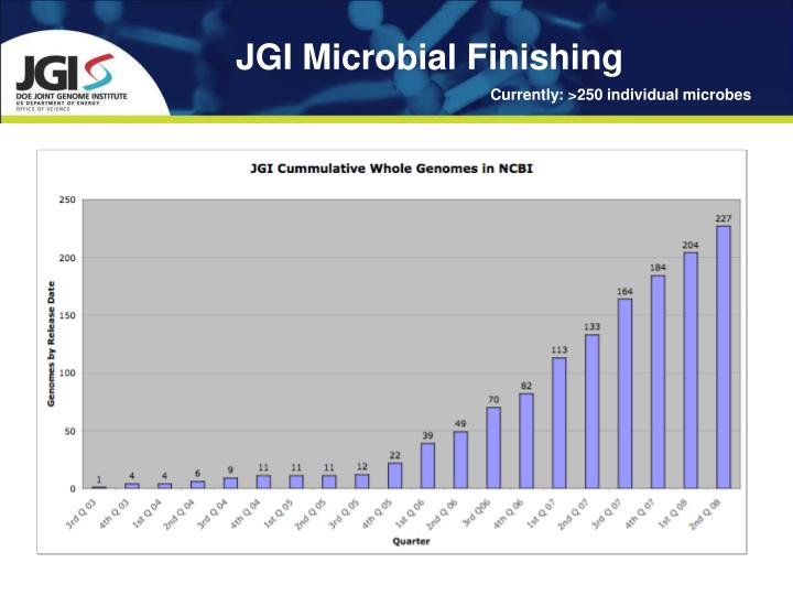 JGI Microbial Finishing