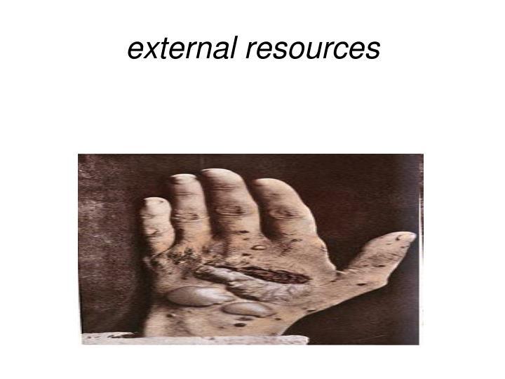 external resources