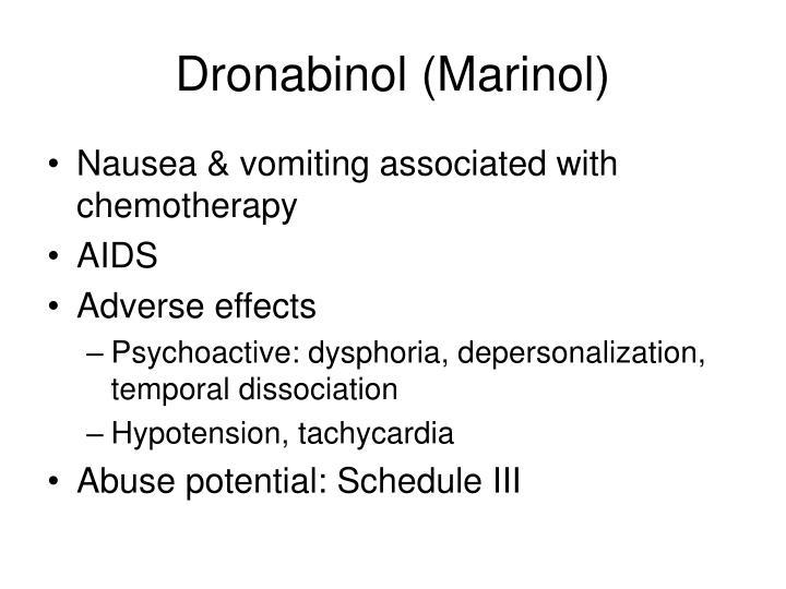 Dronabinol (Marinol)