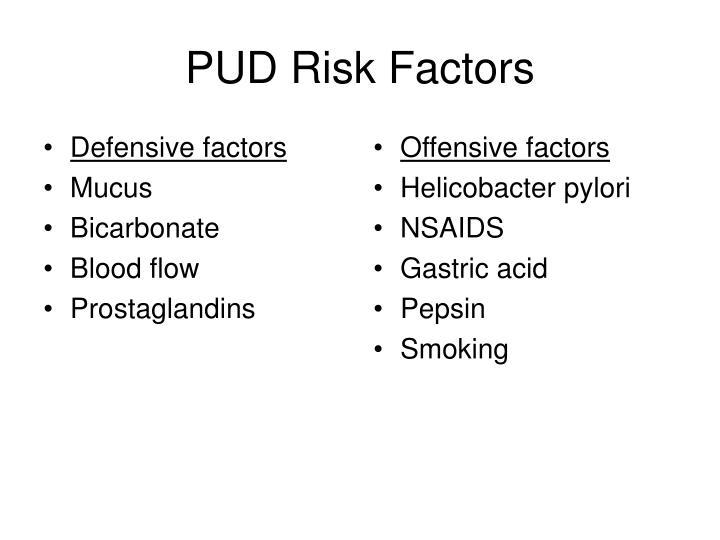 Defensive factors