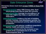 state enterprise zones