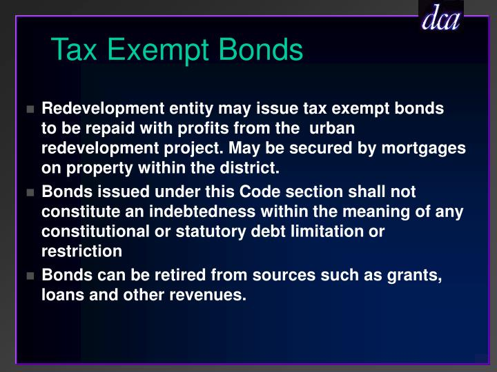 Tax Exempt Bonds