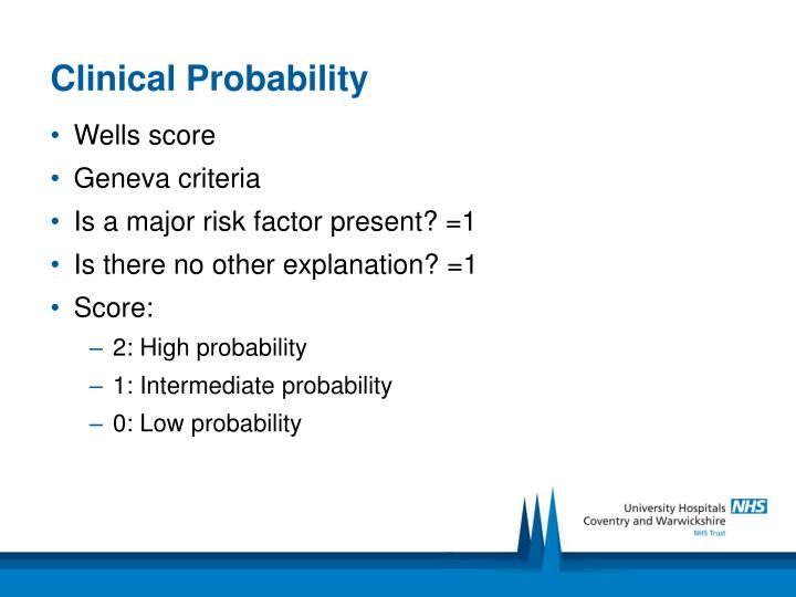 Clinical Probability