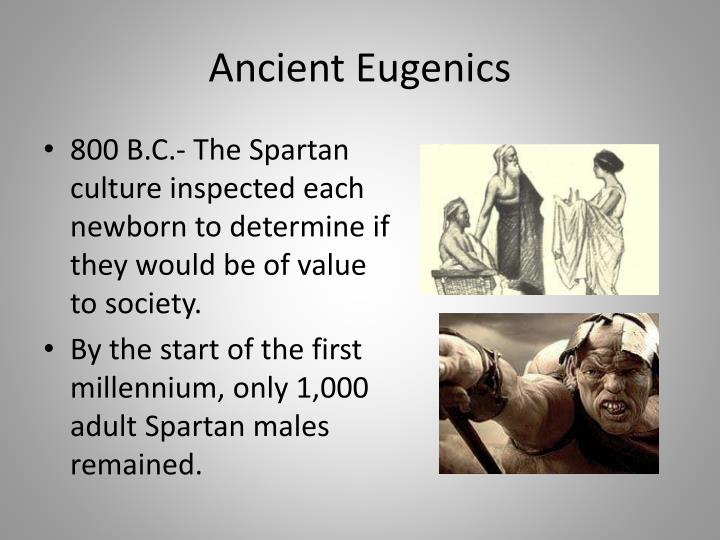Ancient Eugenics