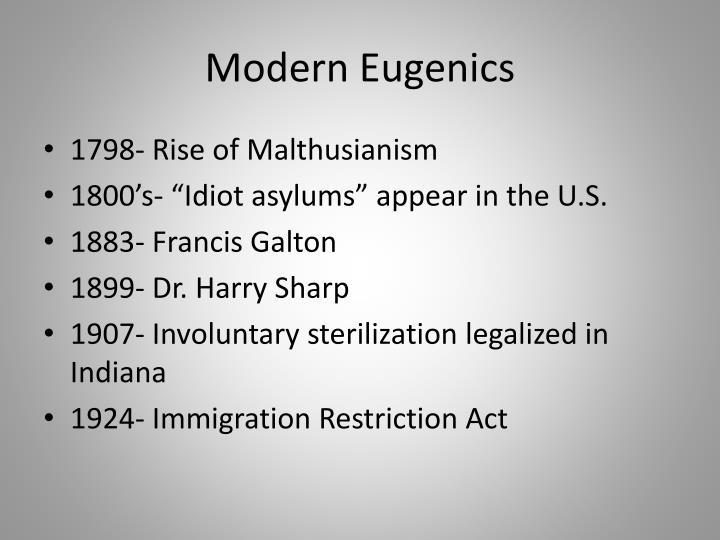 Modern Eugenics