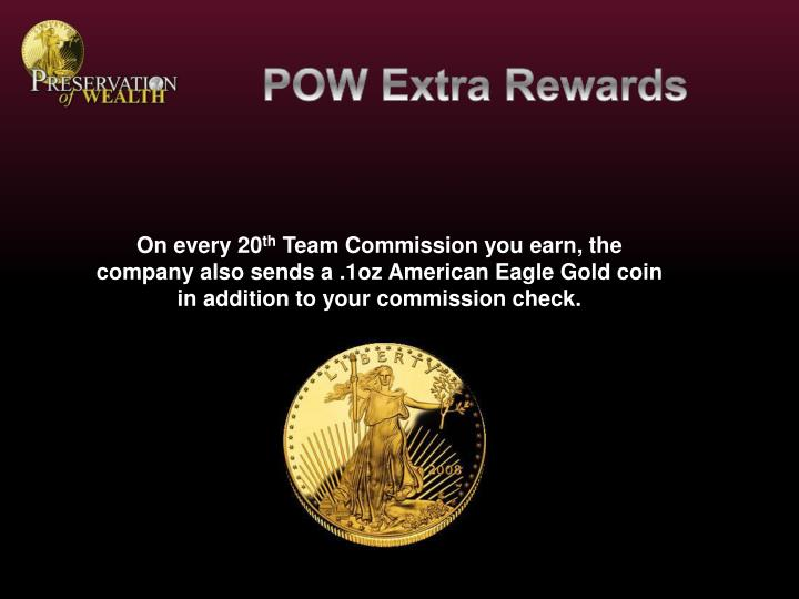 POW Extra Rewards