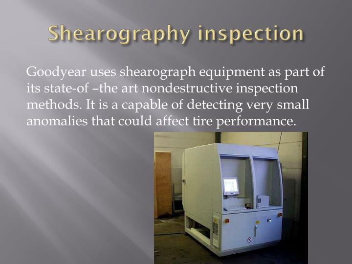 Shearography
