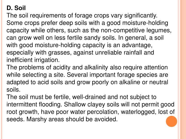 D. Soil
