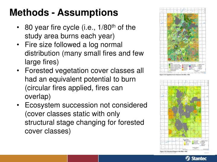 Methods - Assumptions