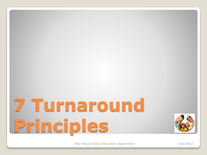 7 Turnaround