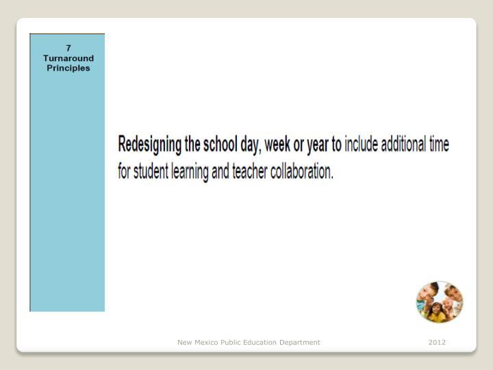 New Mexico Public Education Department                                           2012