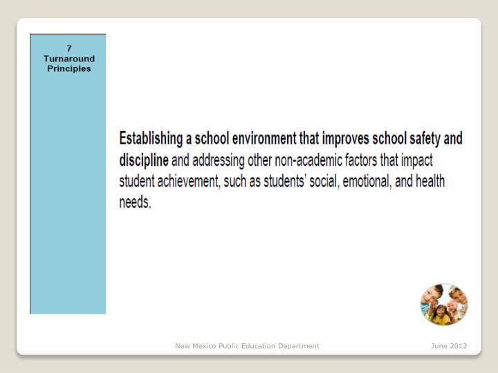 New Mexico Public Education Department   June 2012