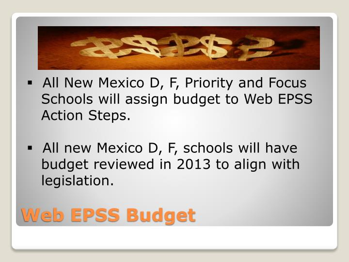 All New Mexico D, F, Priority and Focus