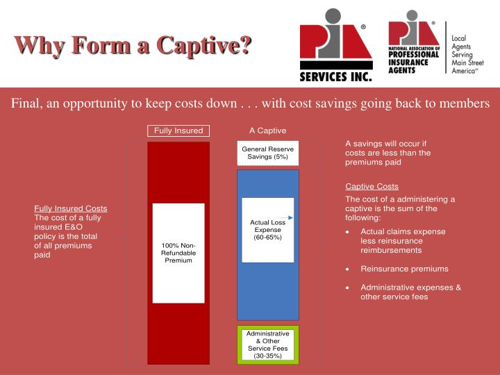 Why Form a Captive?