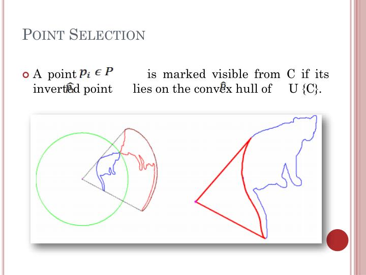 Point Selection