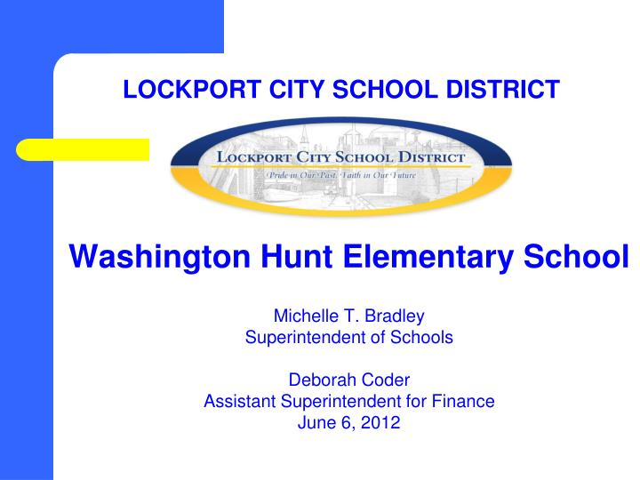 Lockport city school district