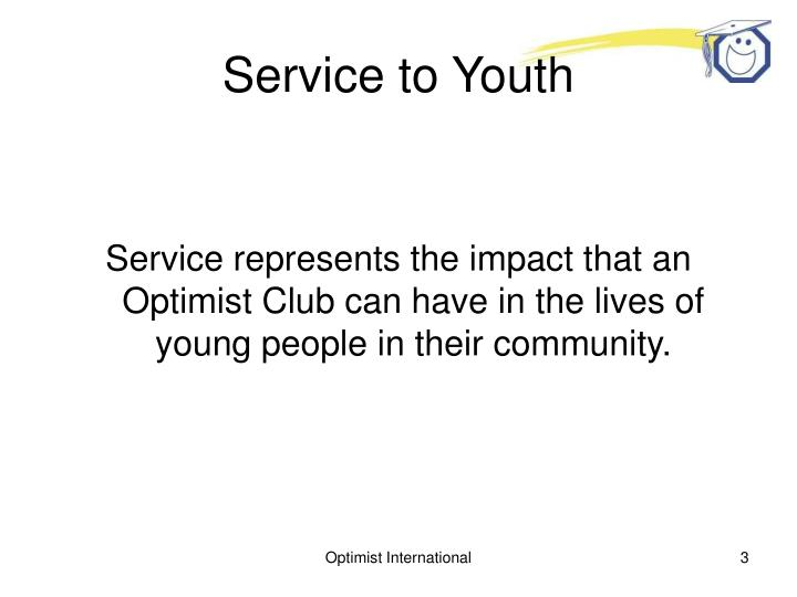 Service to youth1