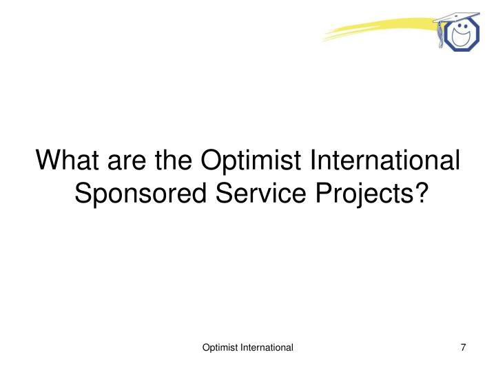 What are the Optimist International