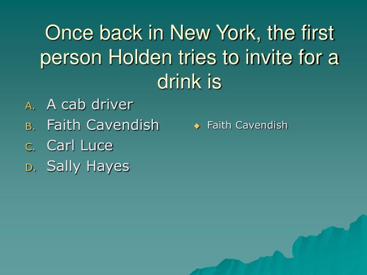 A cab driver