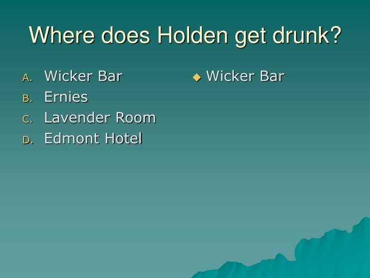 Wicker Bar