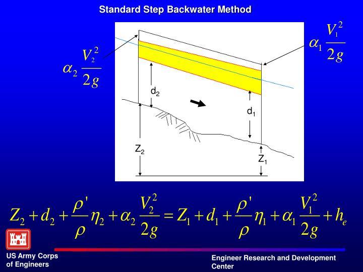 Standard Step Backwater Method