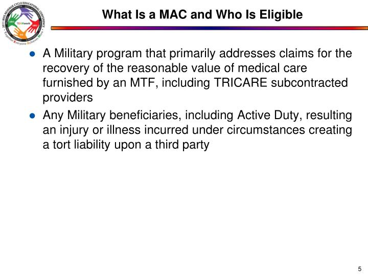 What Is a MAC and Who Is Eligible