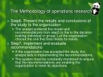 the methodology of operations research2