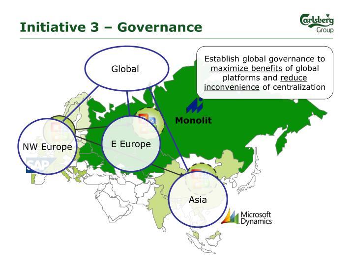 Initiative 3 – Governance