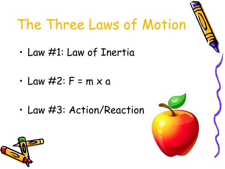 an analysis of the issac newton laws of motion How can anything find the momentum to accelerate from a resting point and  why would it bother isaac newton figured it out, and tim and moby explain it in.
