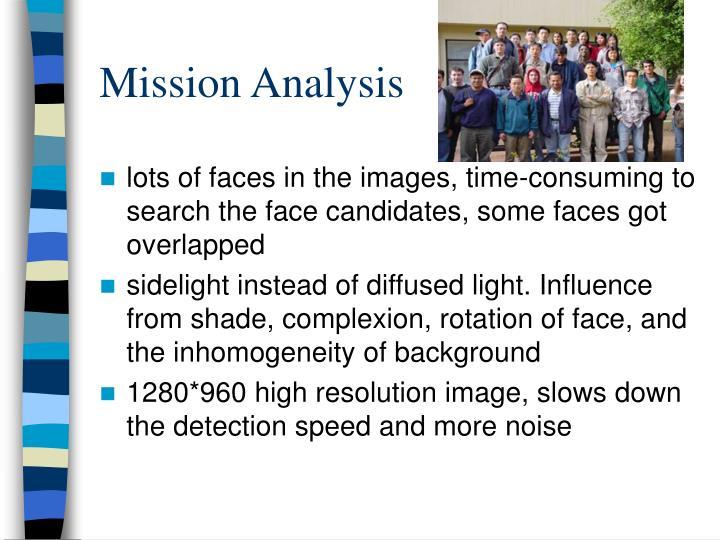 Mission Analysis