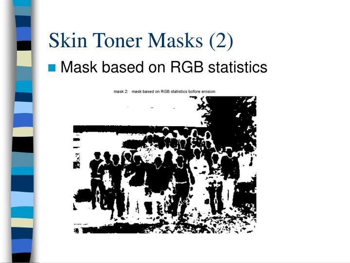 Skin Toner Masks (2)