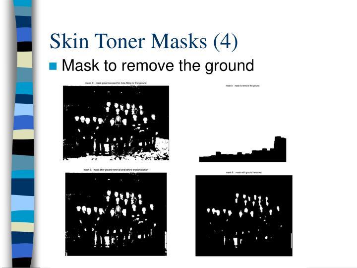 Skin Toner Masks (4)