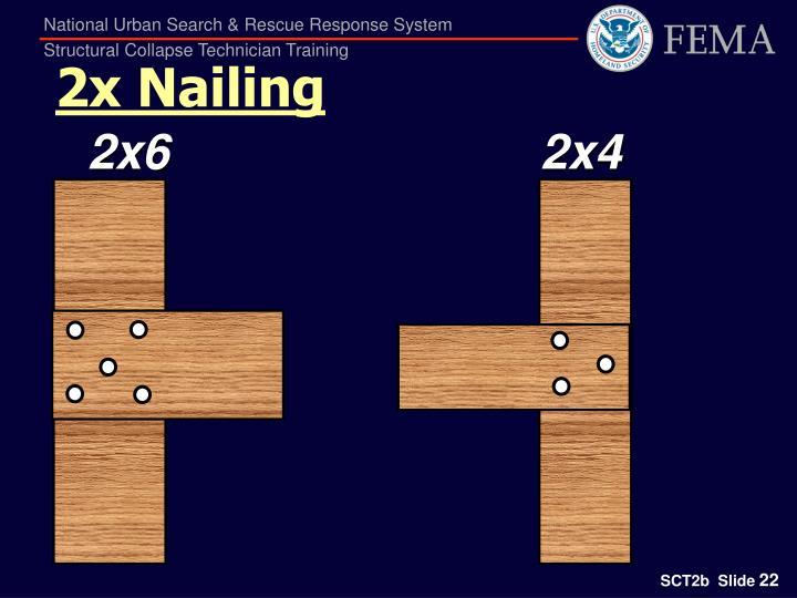 2x Nailing