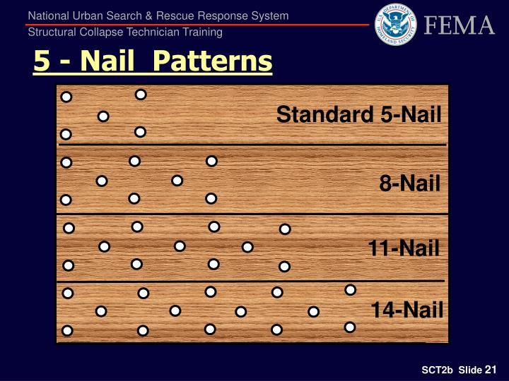 5 - Nail  Patterns