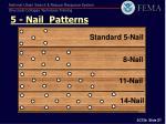 5 nail patterns