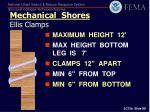 mechanical shores ellis clamps