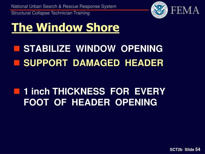The Window Shore