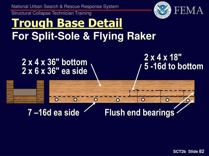 Trough Base Detail