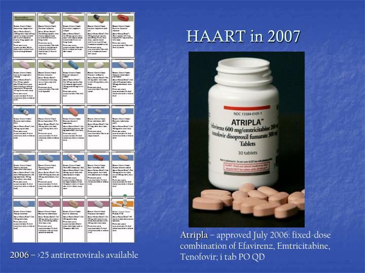 HAART in 2007