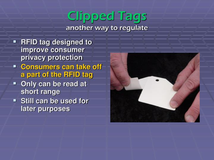 Clipped Tags