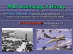 rfid technology a history